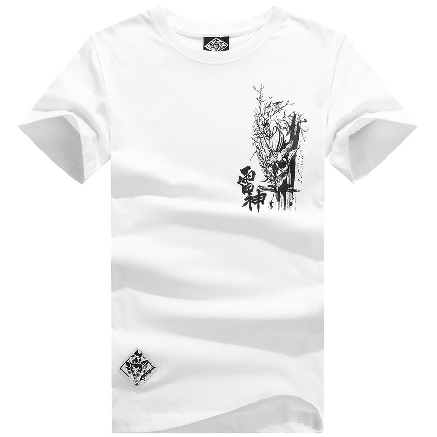 荒神鬼族雷神.骷顱戰神設計短T,,,01013188,荒神鬼族雷神.骷顱戰神設計短T,