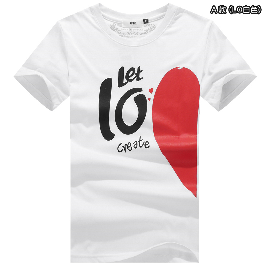 L.O.V.E.戀愛宣言圓領短T,,,01013229,L.O.V.E.戀愛宣言圓領短T,