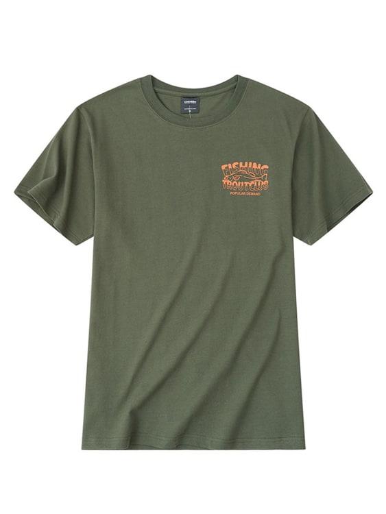 美式復古漁拓印花短袖T恤,,,01013678,美式復古漁拓印花短袖T恤,