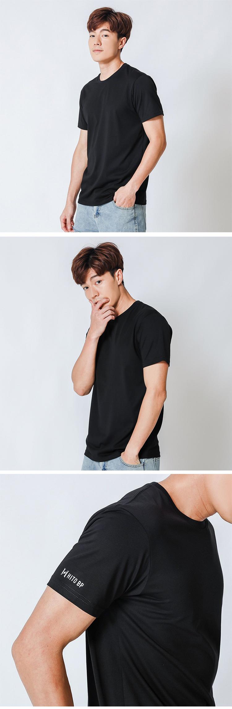 急凍T.60支舒適冰氧棉.涼感短袖T恤