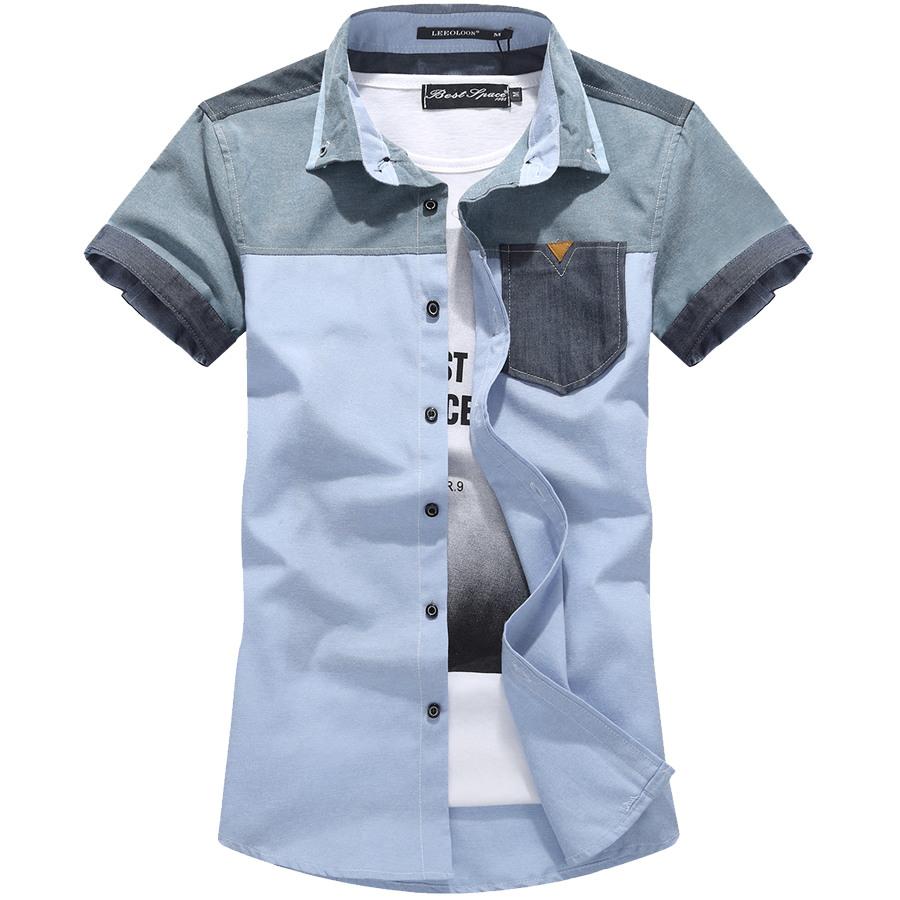 文青款單品.反摺袖小皮標短衫,,,01030604,文青款單品.反摺袖小皮標短衫,