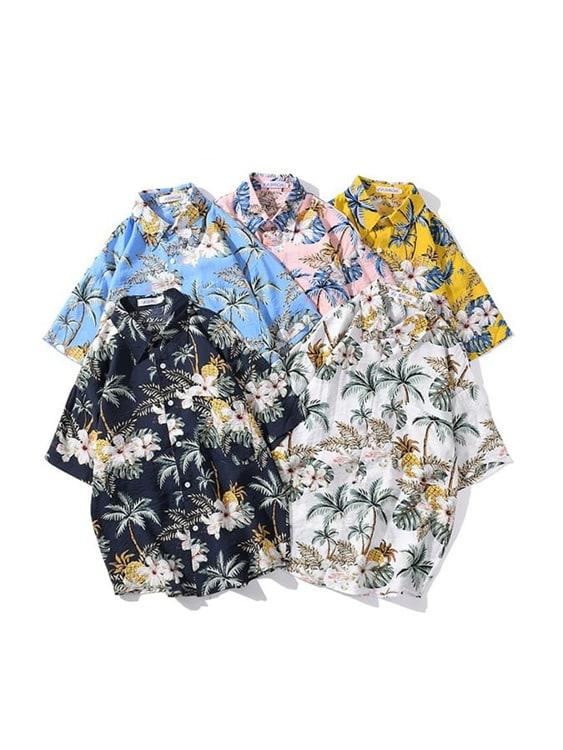 夏日決勝穿搭.透氣夏威夷襯衫