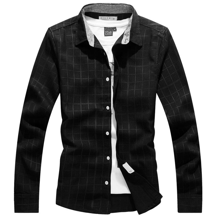 低調的優雅.隱格紋長袖襯衫,,,01130509,低調的優雅.隱格紋長袖襯衫,