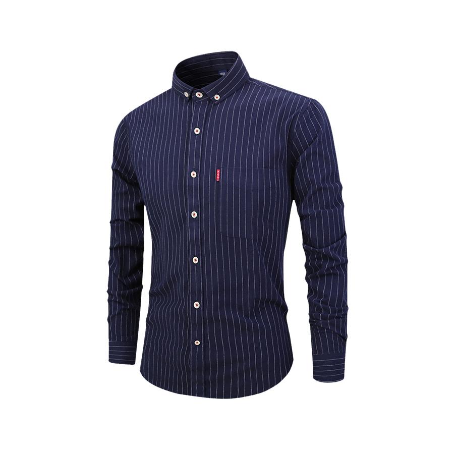 紅袖扣.紳士條紋襯衫,,,01130611,紅袖扣.紳士條紋襯衫,