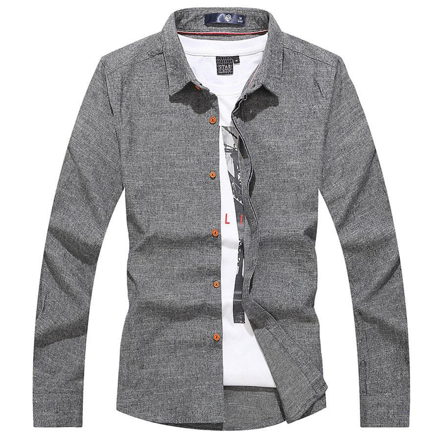 俐落感修身棉質長袖襯衫,,,01130666,俐落感修身棉質長袖襯衫,