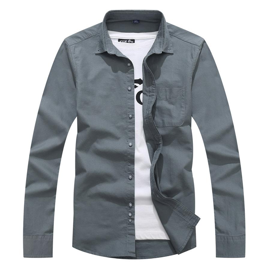 質感翻領素色長袖襯衫,,,01130671,質感翻領素色長袖襯衫,