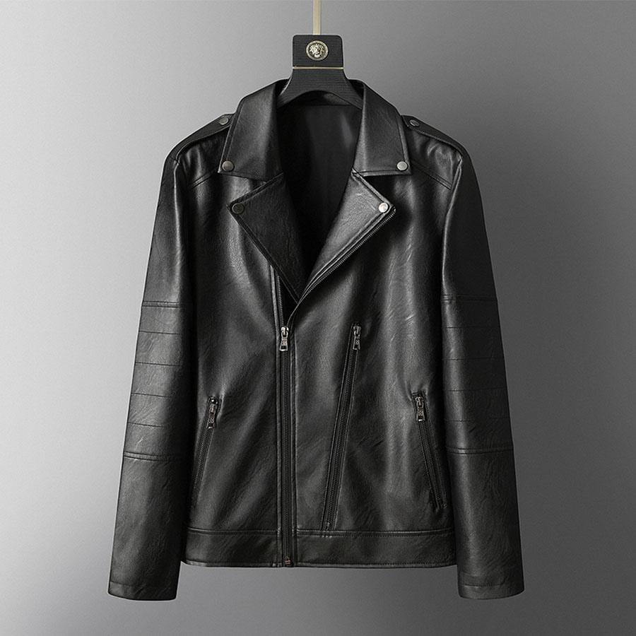 型男立體剪裁單品.反折領耐磨皮革外套,,,02010083,型男立體剪裁單品.反折領耐磨皮革外套,