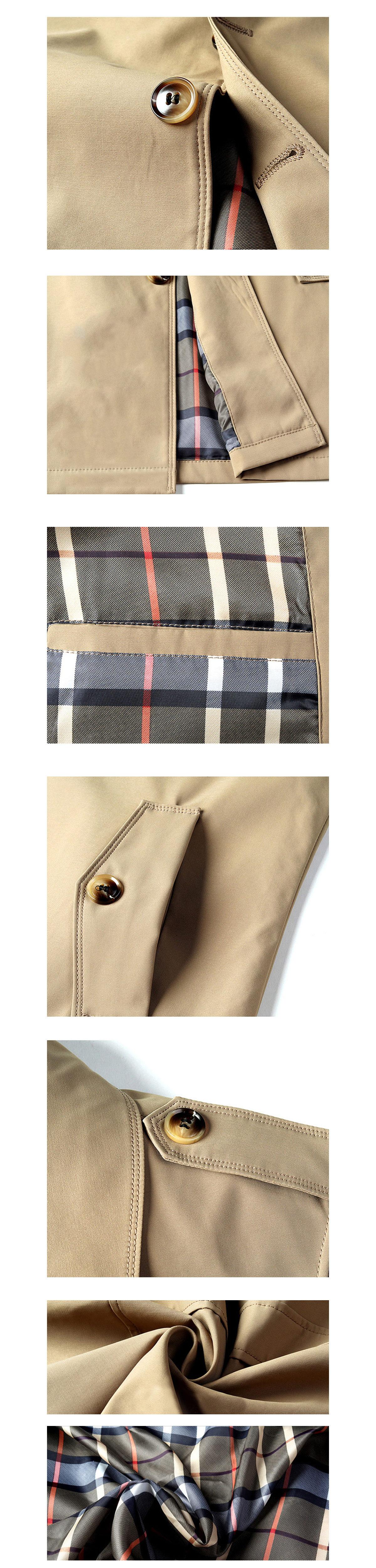 英倫紳士風格單品.專櫃高質感風衣外套