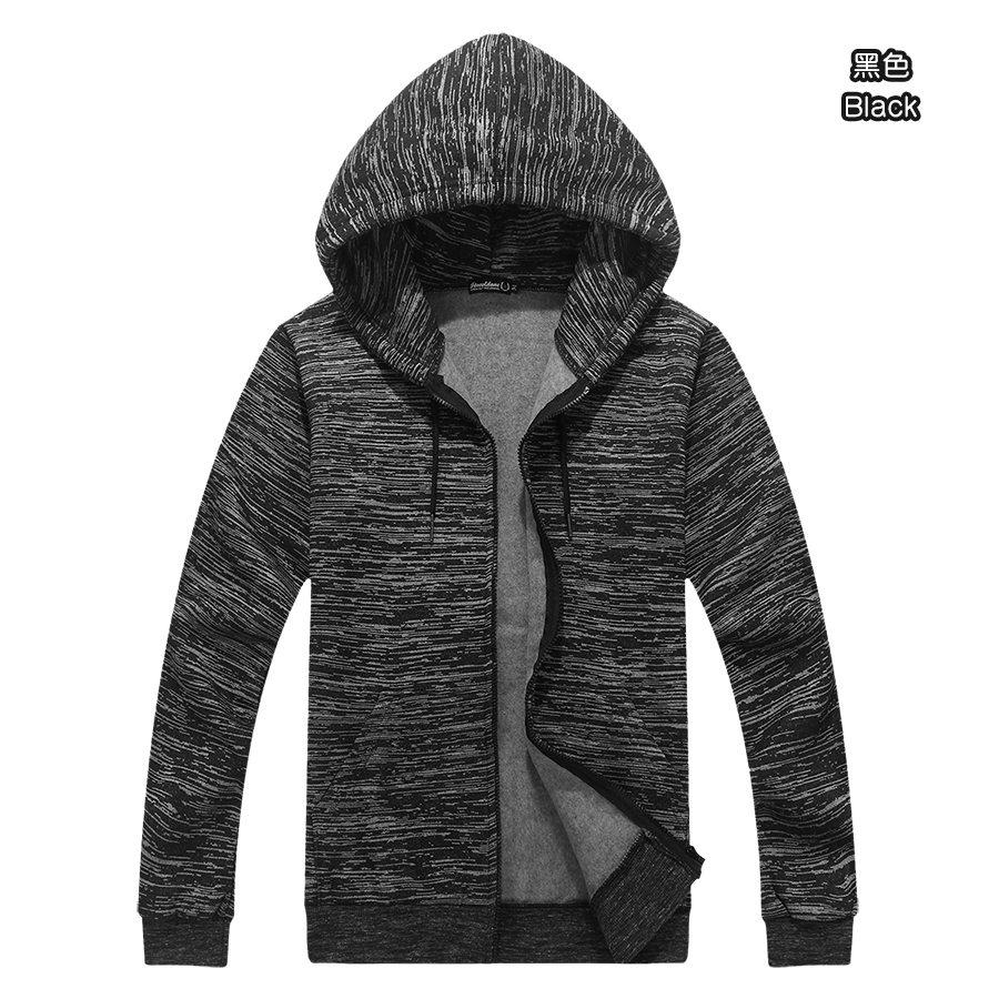 MIT.混色針織內刷毛棉連帽外套,,,02050333,MIT.混色針織內刷毛棉連帽外套,