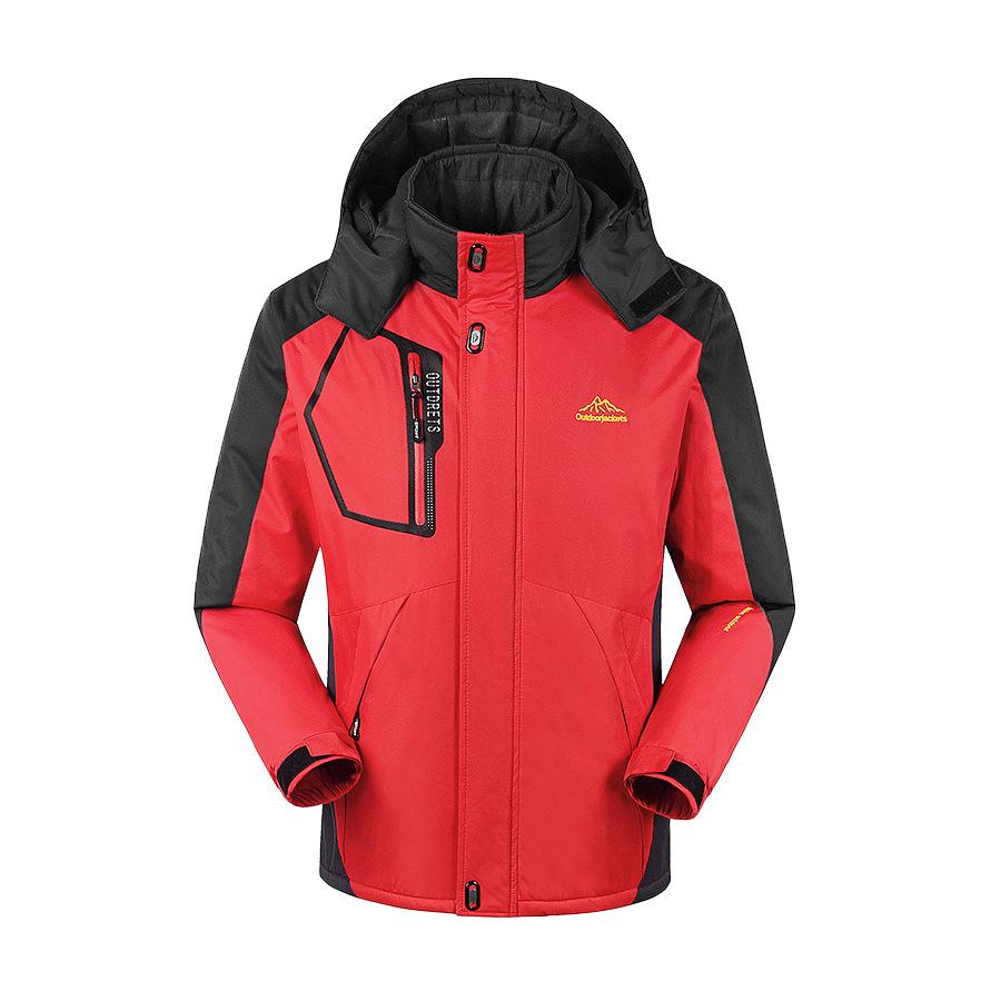 機能極限進化.防風防水厚絨.保暖衝鋒外套