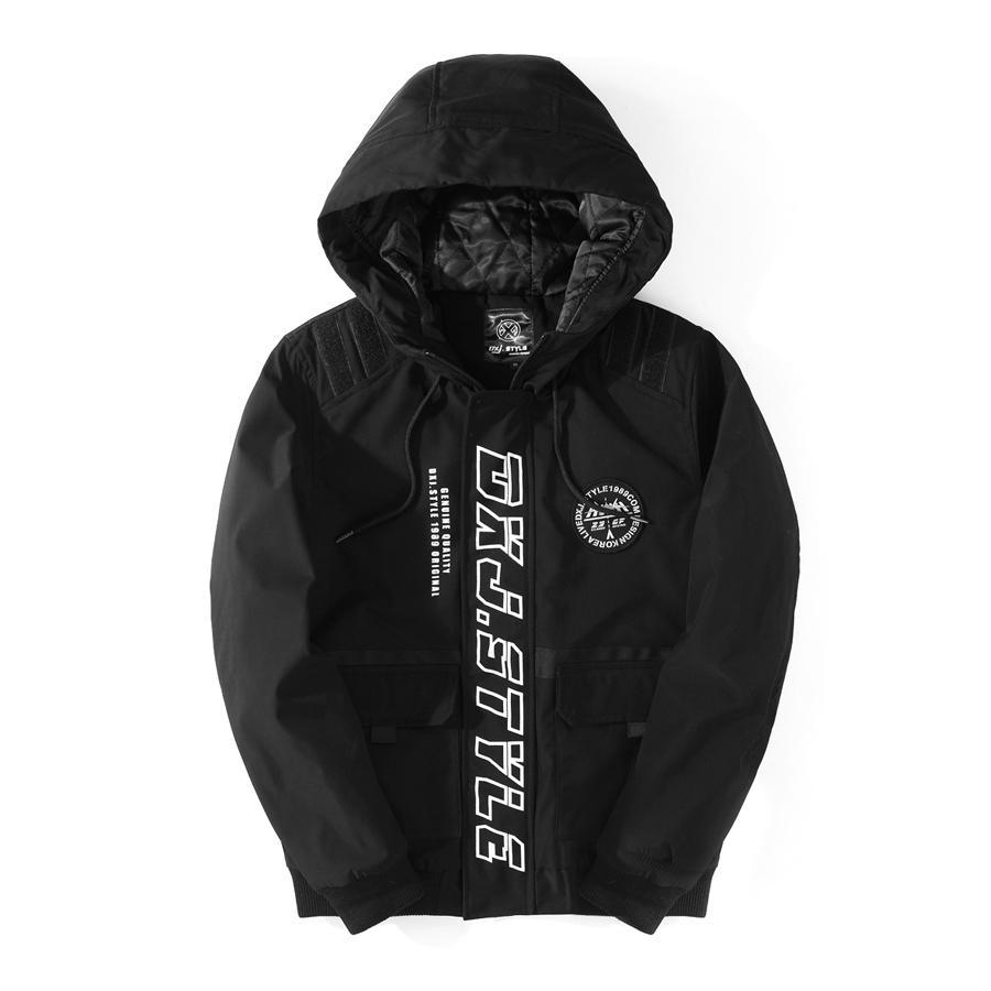 肩膀魔鬼沾設計.超有型防風鋪棉保暖外套,,,02050388,肩膀魔鬼沾設計.超有型防風鋪棉保暖外套,