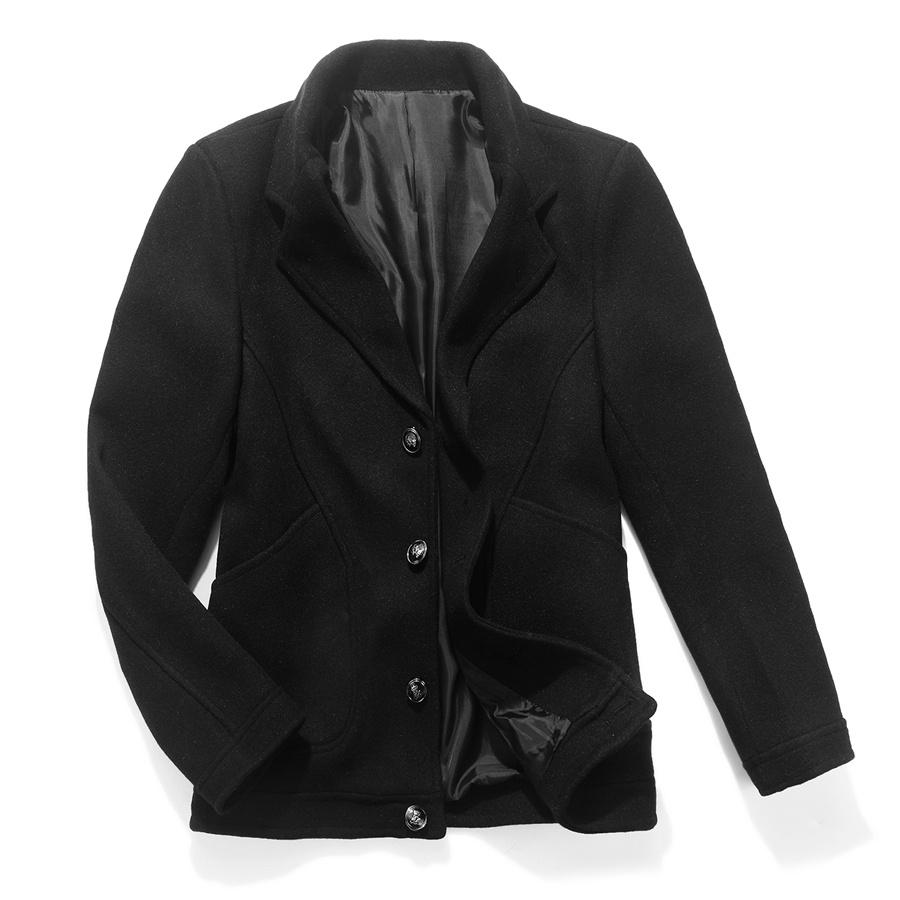 高檔專櫃品質.皇冠釦厚實挺拔毛呢短大衣,,,02060049,高檔專櫃品質.皇冠釦厚實挺拔毛呢短大衣,