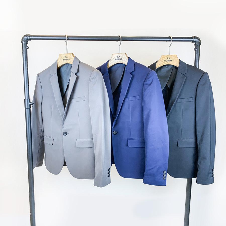 韓國製造單品.簡約單釦西裝外套