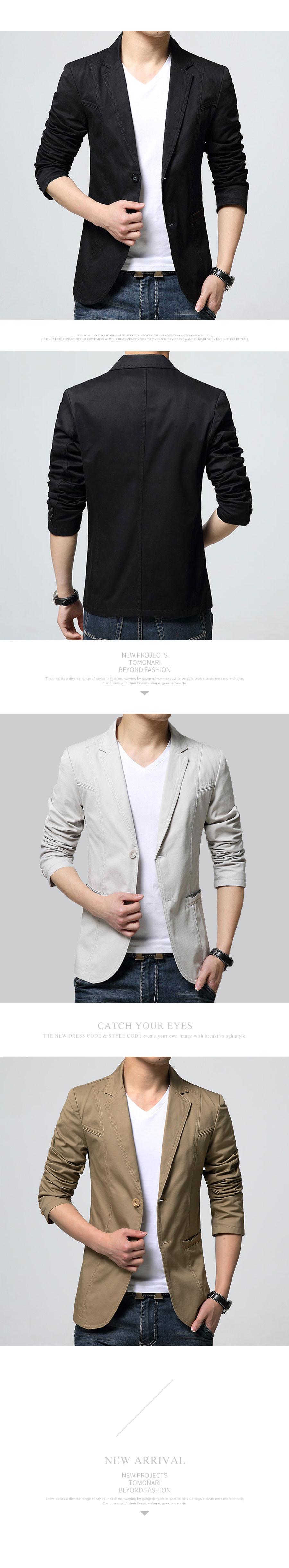 韓版修身剪裁.春夏款九分西裝外套