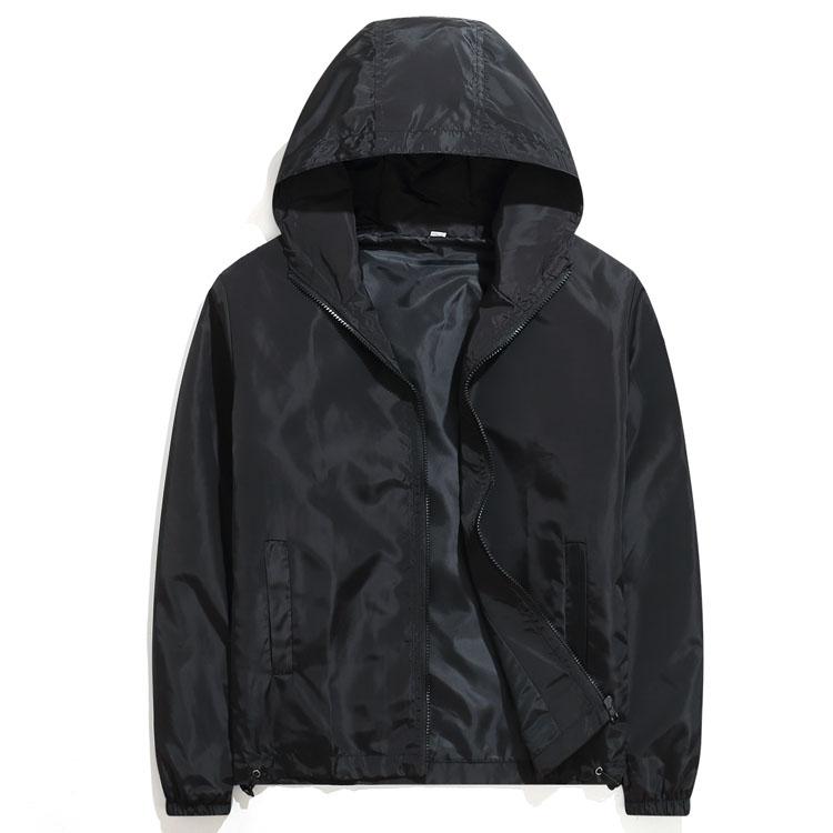 單色王道單品.多色防風連帽外套,,,02070617,單色王道單品.多色防風連帽外套,