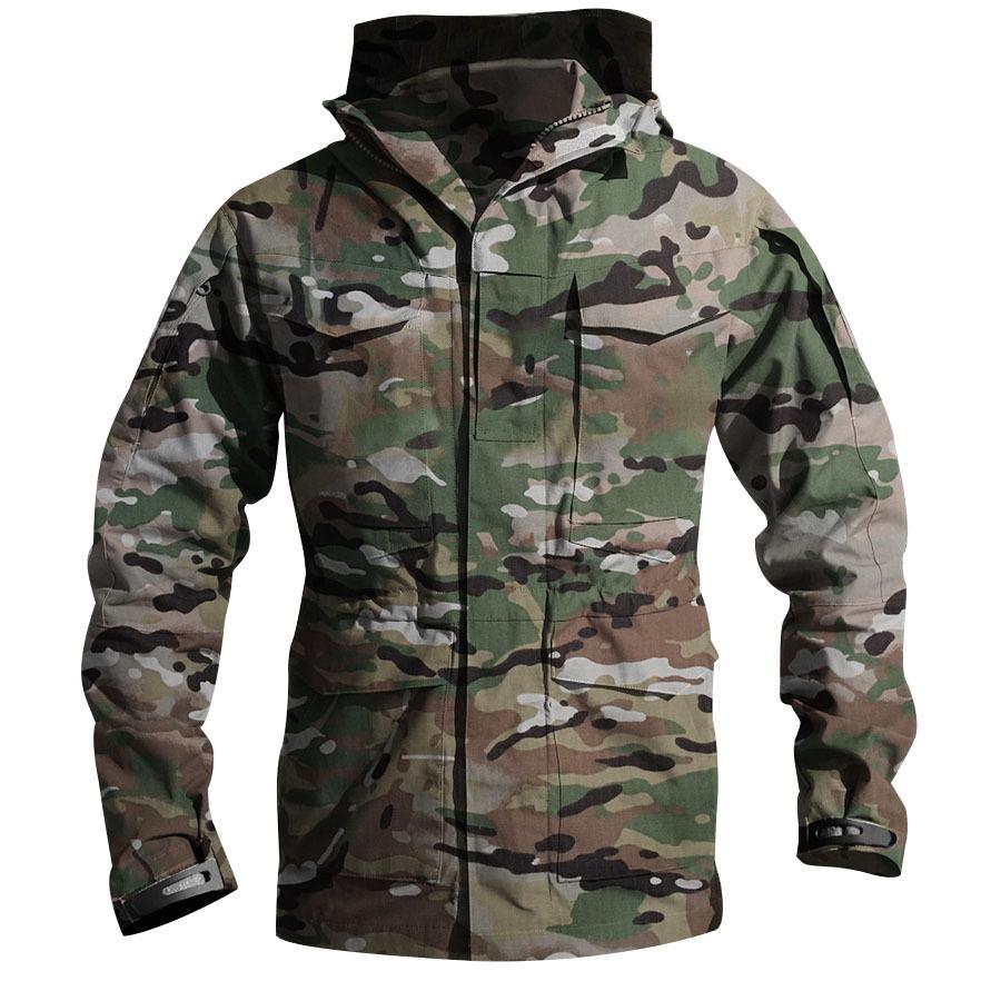 粗獷經典.機能戰術風衣外套