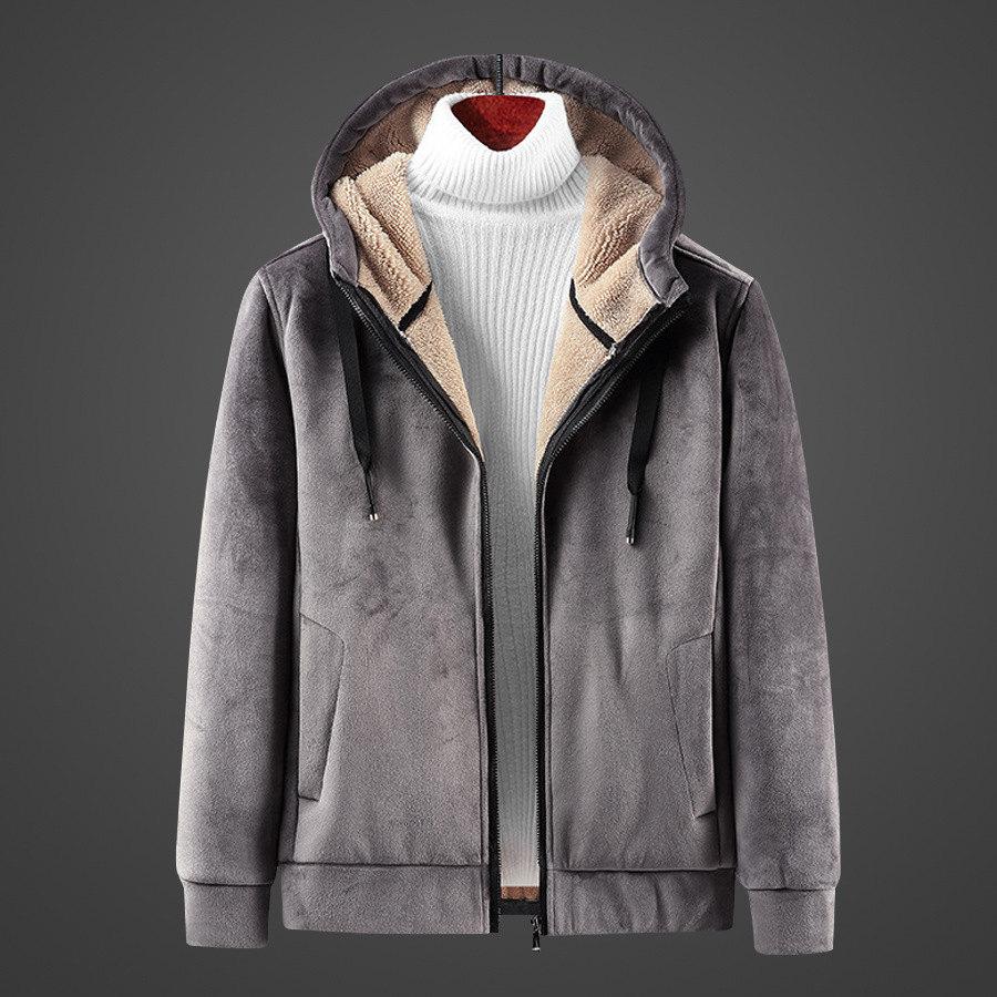極致保暖.羊羔絨連帽外套,,,02070733,極致保暖.羊羔絨連帽外套,