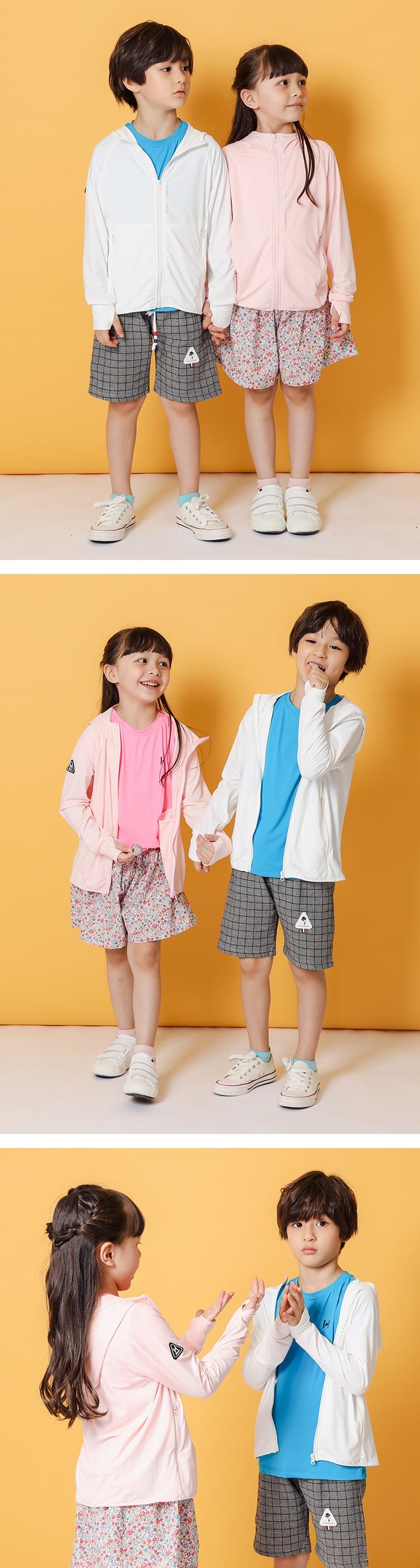 【童】急凍衣 極度防曬透氣涼感外套