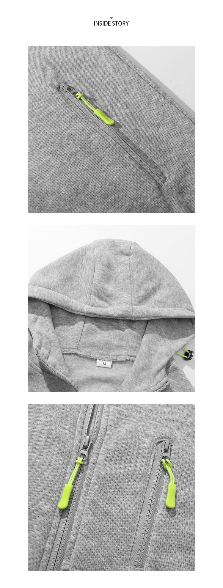 百搭休閒棉質連帽外套