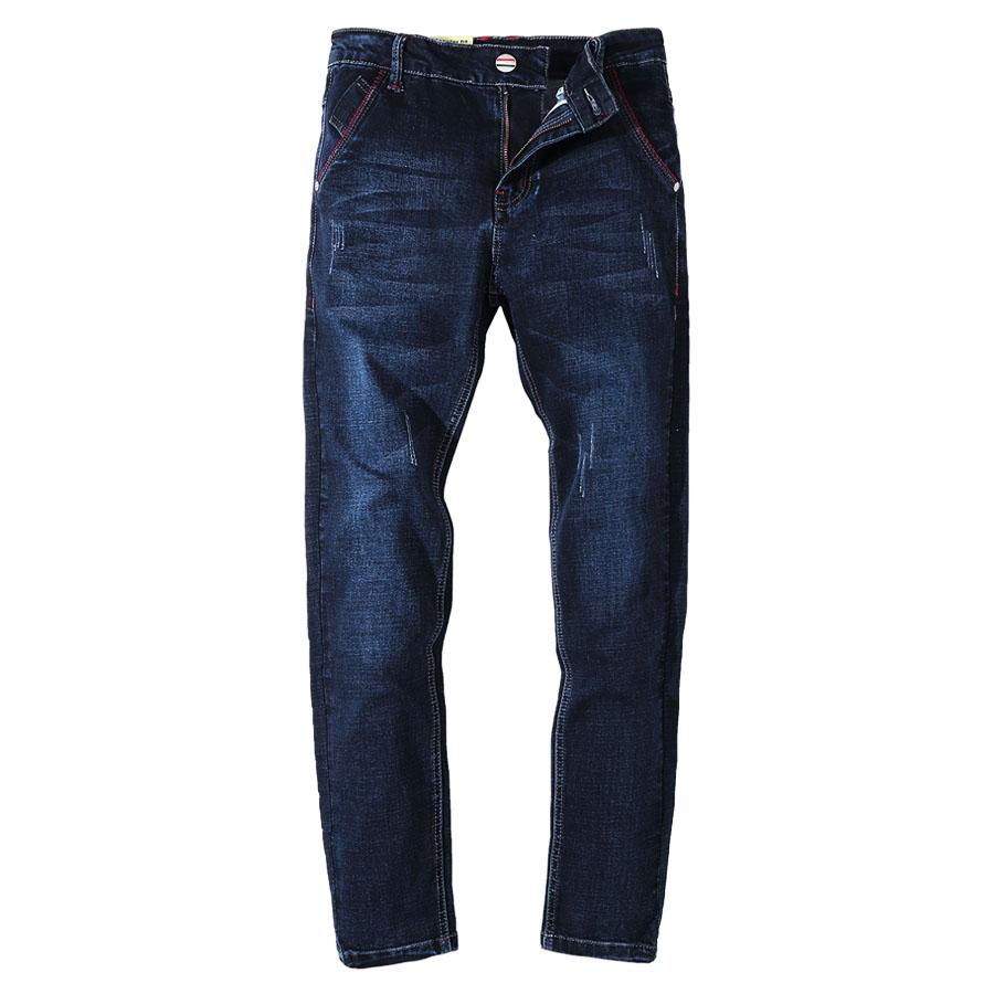 水洗藍 彈力修身牛仔褲,,,03010719,水洗藍彈力修身牛仔褲,