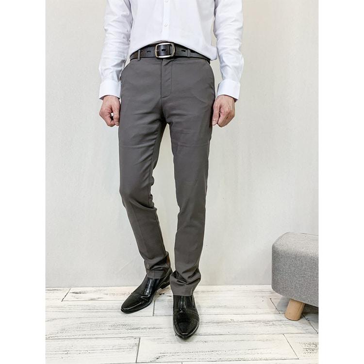 韓國製造單品.簡約窄管顯瘦設計西裝褲,,,03020072,韓國製造單品.簡約窄管顯瘦設計西裝褲,