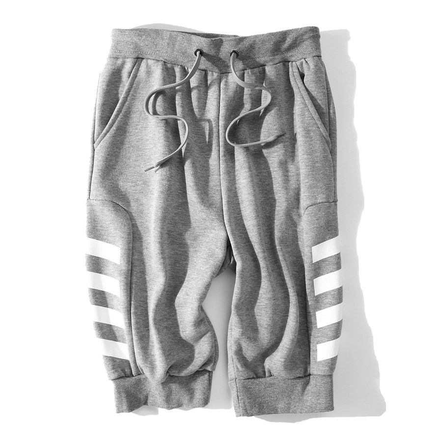 時尚動感單品.斑馬紋五分棉褲,,,03050196,時尚動感單品.斑馬紋五分棉褲,