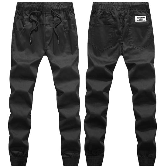 縮口褲時代.街頭潮流設計單品.束口多色工作褲