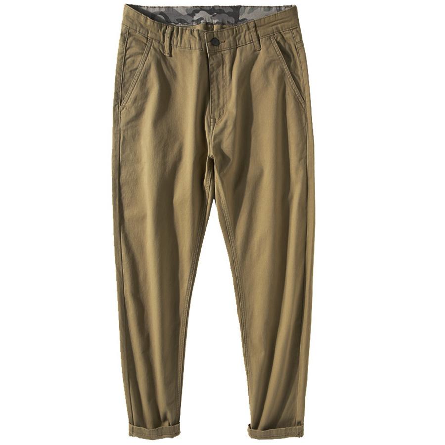 素色百搭.不挑身形彈力休閒褲,,,03060303,素色百搭.不挑身形彈力休閒褲,