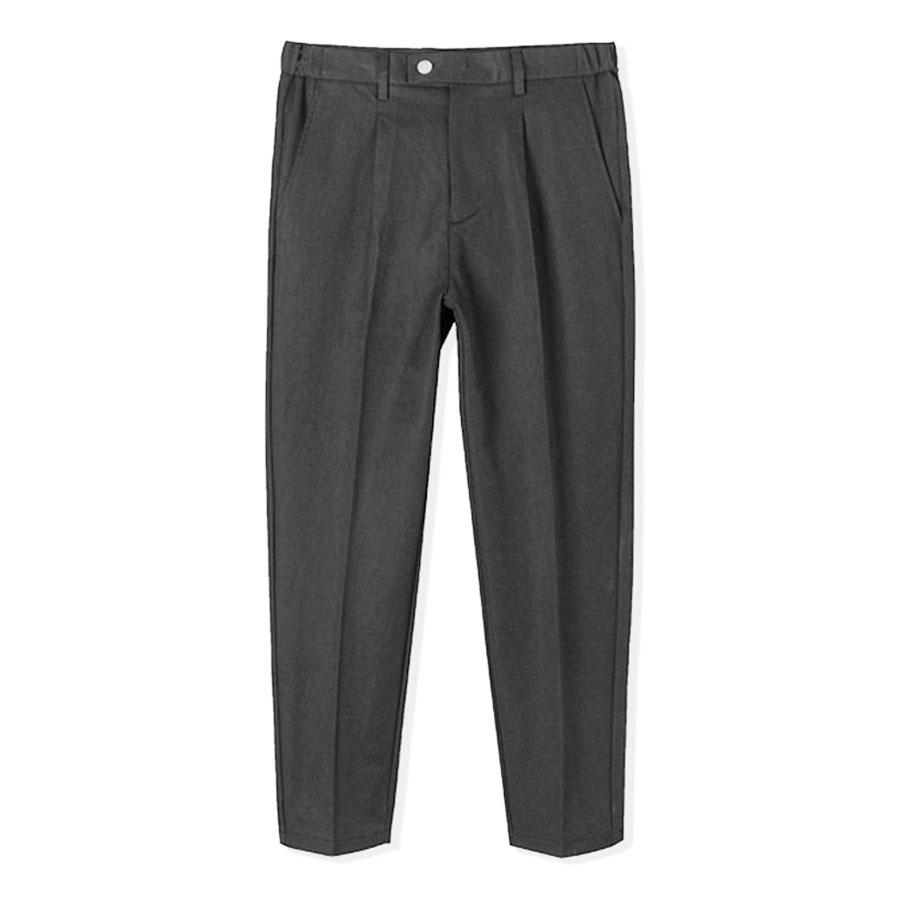 簡約時尚.腰側鬆緊舒適厚挺西裝褲,,,03060305,簡約時尚.腰側鬆緊舒適厚挺西裝褲,