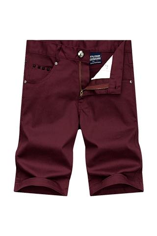 ROCK搖滾風格‧黑色鉚釘設計短褲,,,03070125,ROCK搖滾風格‧黑色鉚釘設計短褲,