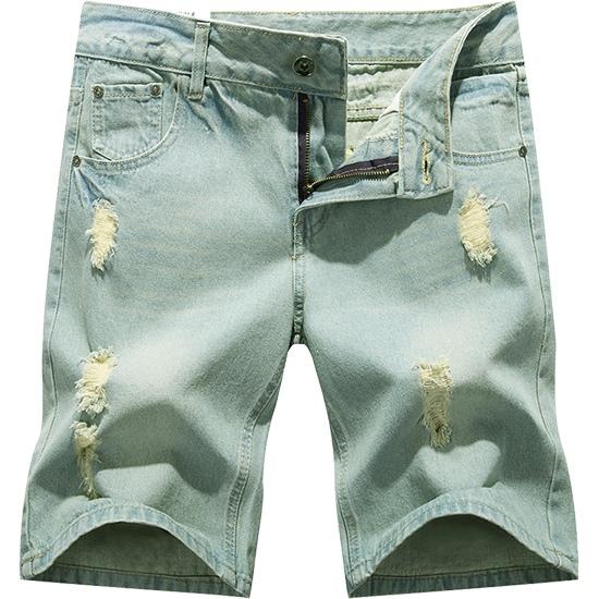 夏季必備單品.超有型刷破設計牛仔短褲.有大碼,,,03070210,夏季必備單品.超有型刷破設計牛仔短褲.有大碼,
