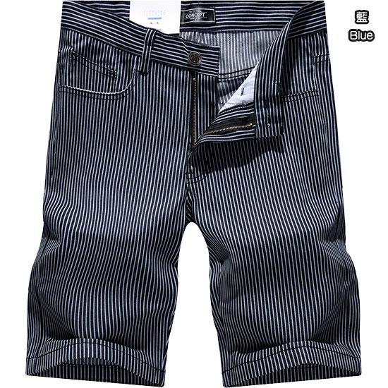 時尚穿搭風格款‧條紋工作短褲,,,03070391,時尚穿搭風格款‧條紋工作短褲,
