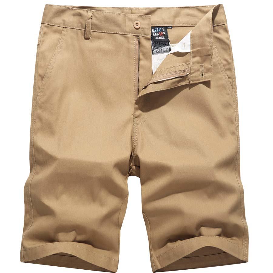 MA-1布標 .全素簡約風.休閒短褲.有大碼,,,03070539,MA-1布標 .全素簡約風.休閒短褲.有大碼,