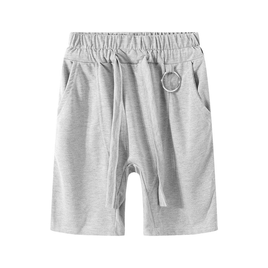 特殊裁縫設計.圓拉環棉短褲,,,03070660,特殊裁縫設計.圓拉環棉短褲,