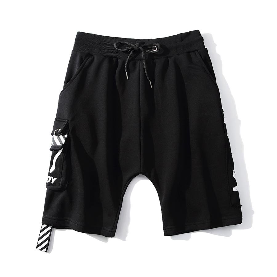 街頭潮人單品.斑馬線織帶鐵環短褲,,,03070705,街頭潮人單品.斑馬線織帶鐵環短褲,