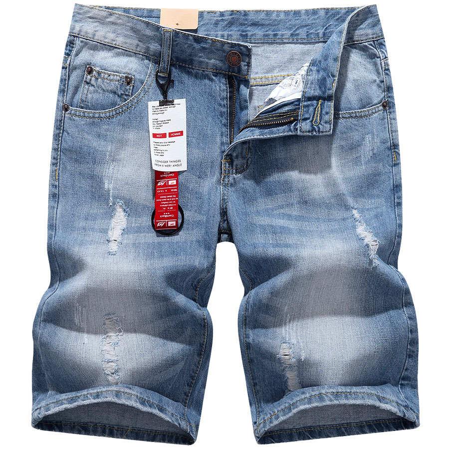 超好看丹寧系.紅織帶吊飾刷破牛仔短褲,,,03070768,超好看丹寧系.紅織帶吊飾刷破牛仔短褲,