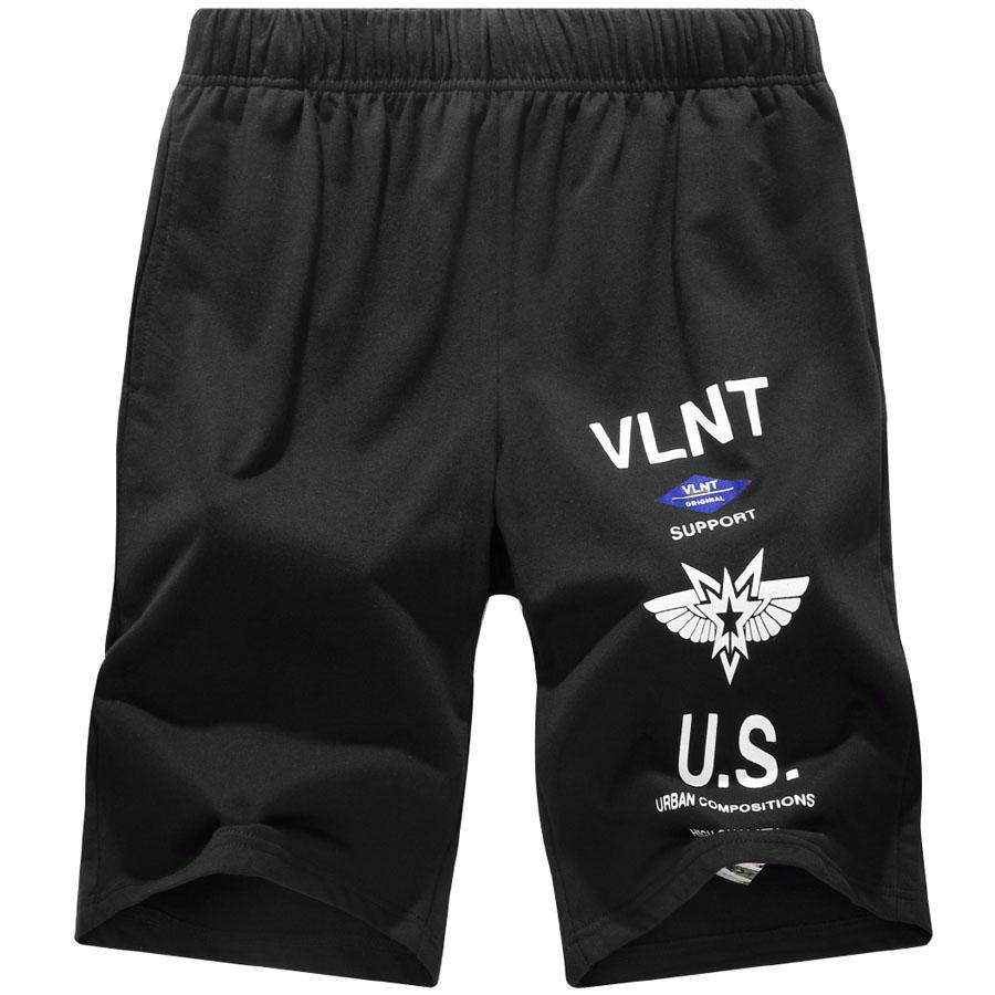 軍事風格單品.LOGO膠印棉質短褲,,,03070771,軍事風格單品.LOGO膠印棉質短褲,