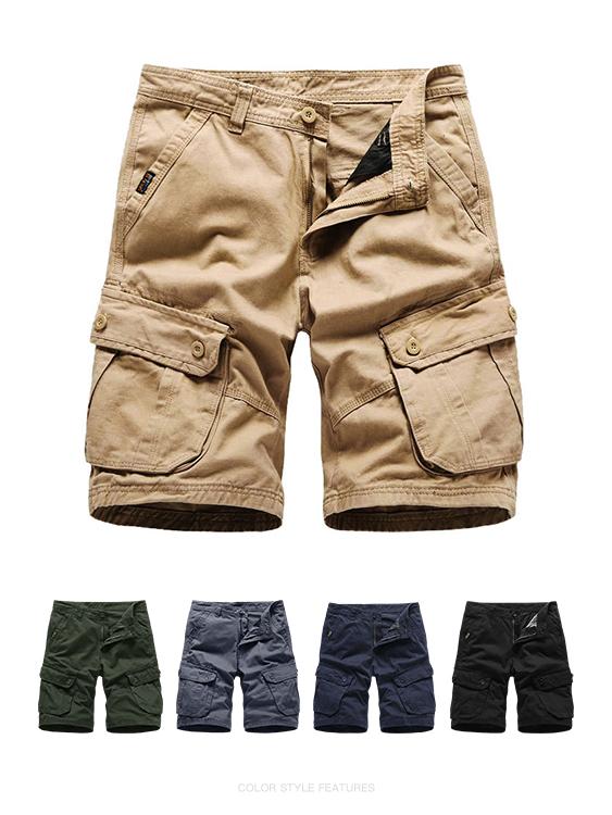夏日必備單品.大口袋設計短褲