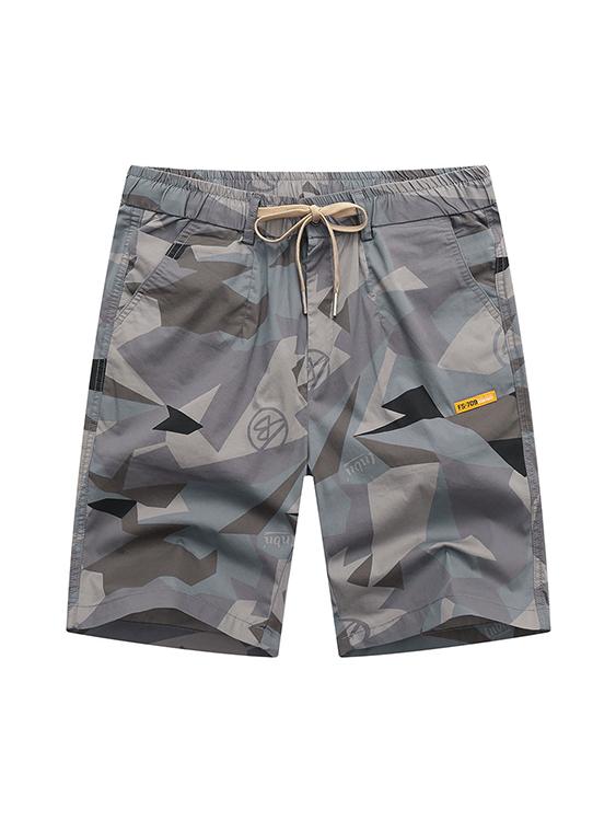 時髦迷彩百搭舒適短褲
