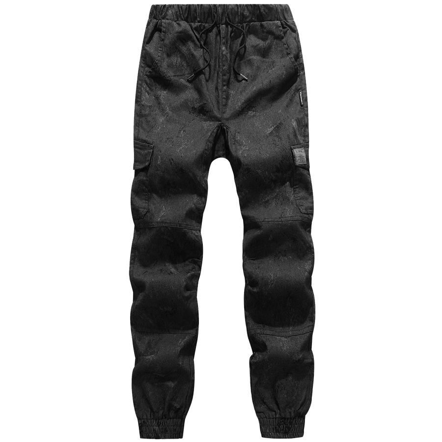 軍式風格單品.反光布章斑駁迷彩縮口束口褲,,,03090097,軍式風格單品.反光布章斑駁迷彩縮口束口褲,