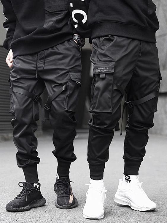 工裝風格單品.韓國設計.傘兵褲