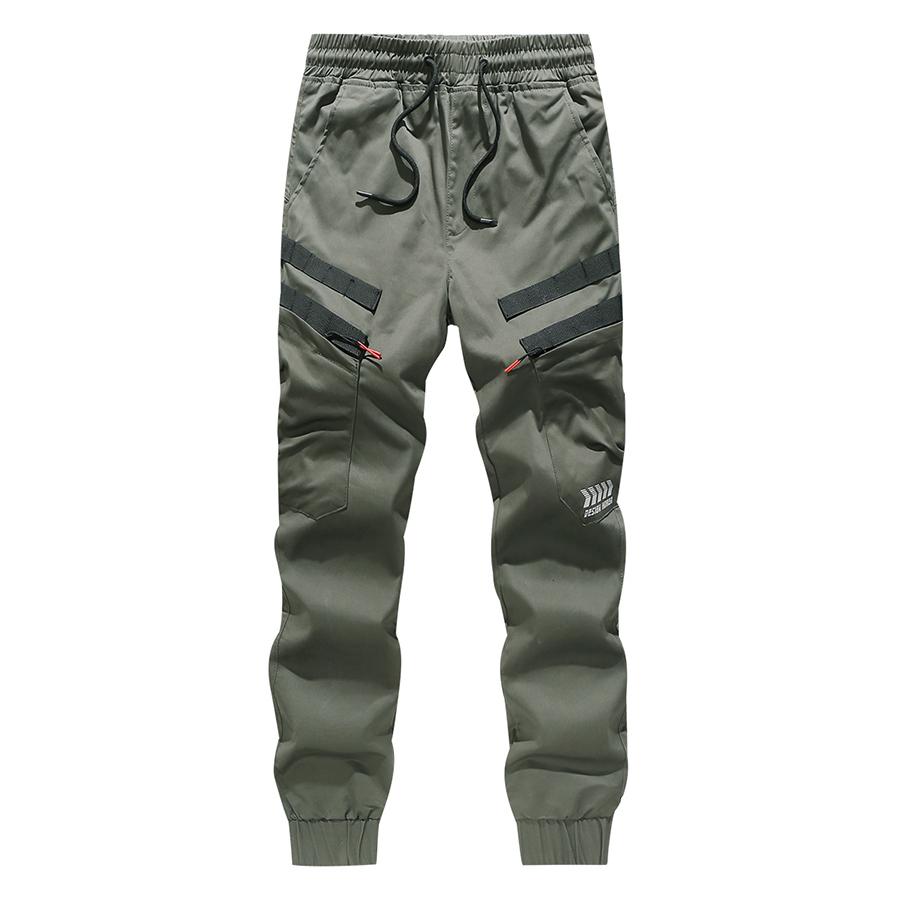 防潑水織帶設計.反光LOGO束口縮口褲,,,03090158,防潑水織帶設計.反光LOGO束口縮口褲,