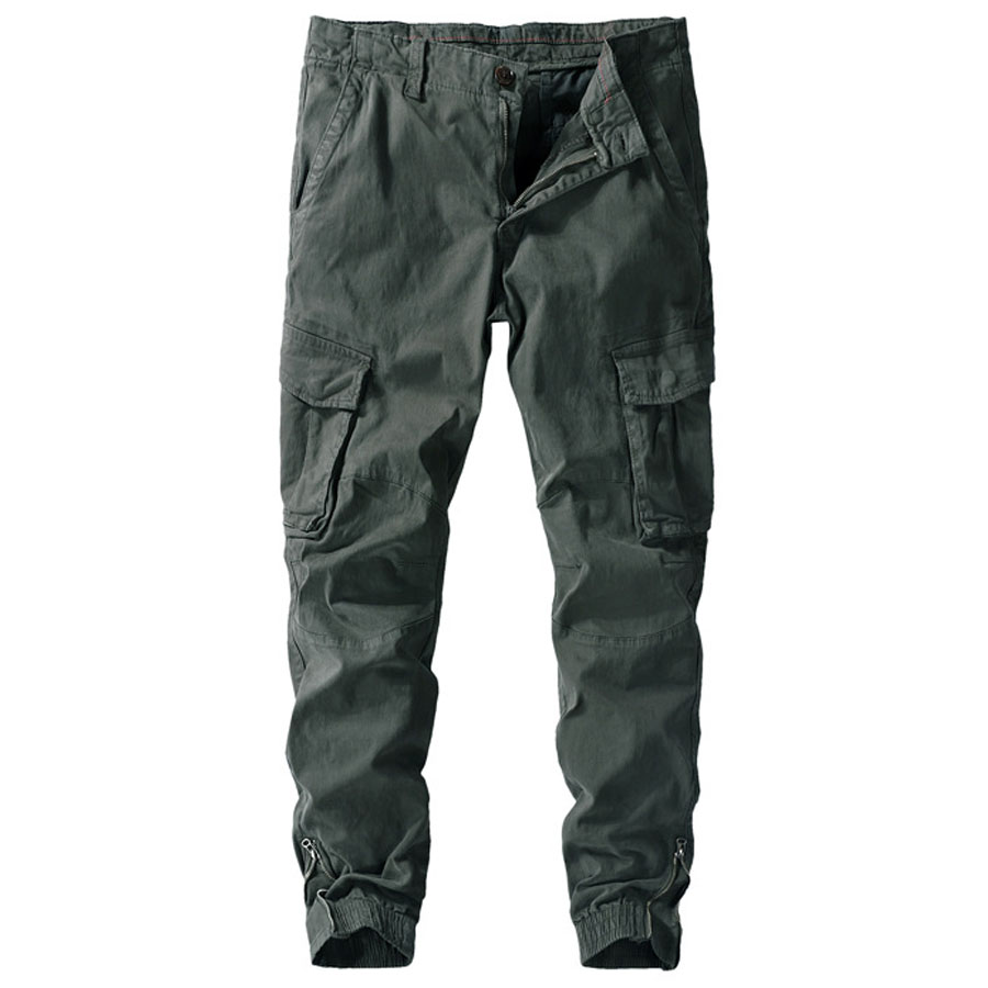 日系工裝風.褲腳拉鍊縮口褲,,,03090188,日系工裝風.褲腳拉鍊縮口褲,