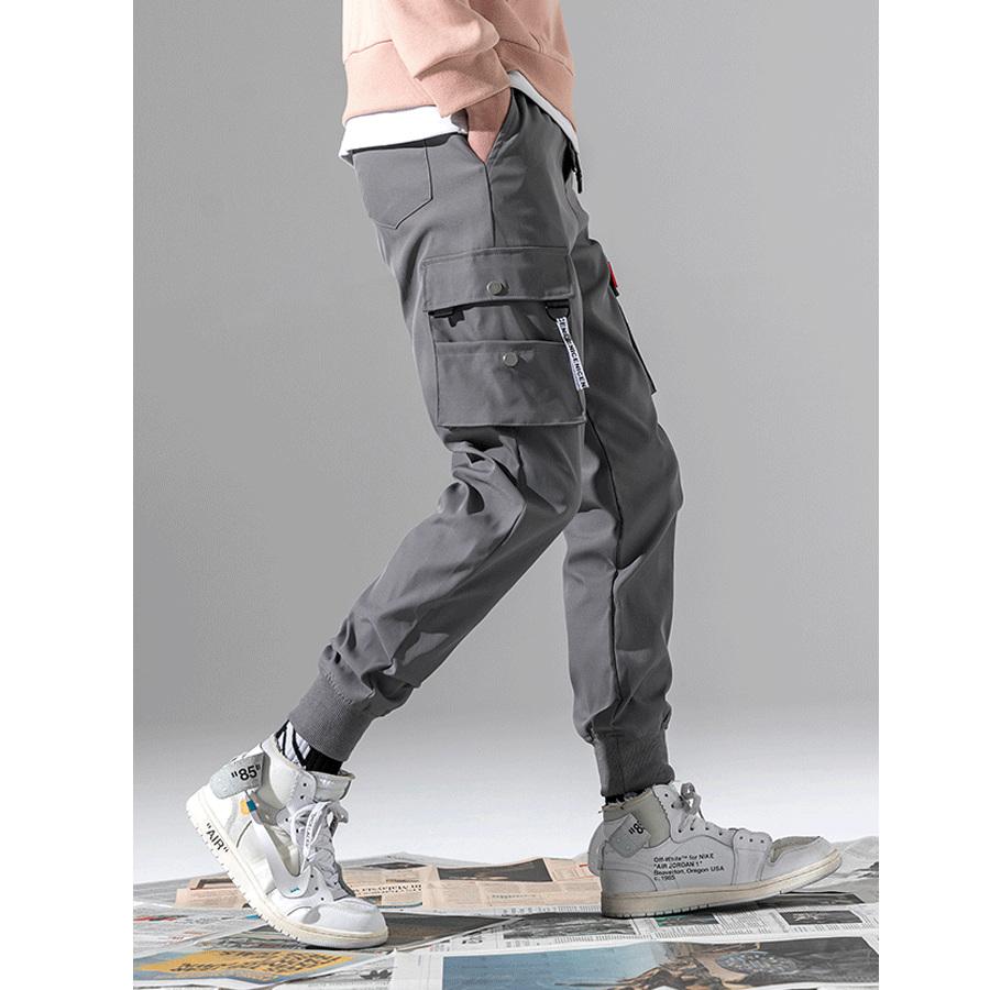 潮流短織帶.硬挺工裝縮口褲,,,03090220,潮流短織帶.硬挺工裝縮口褲,