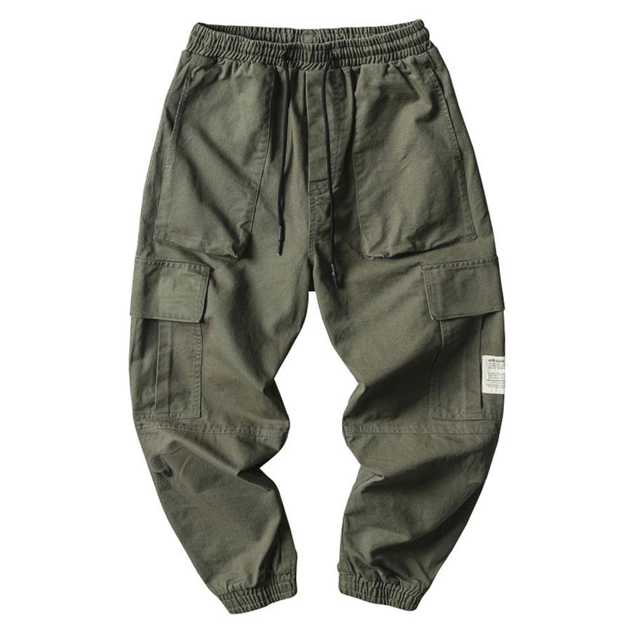 白標素色多口袋工裝長褲,,,03090280,白標素色多口袋工裝長褲,