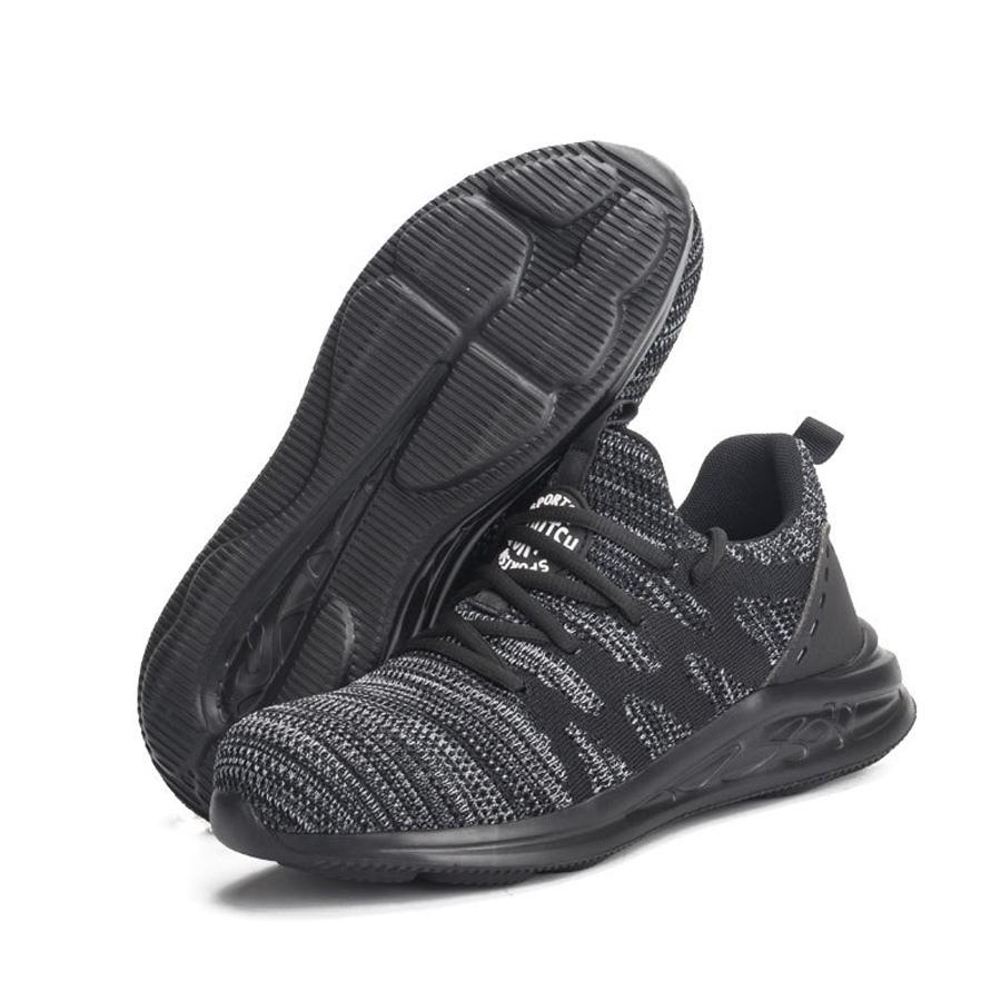 鋼頭加寬.舒適輕盈.防砸防刺休閒鞋