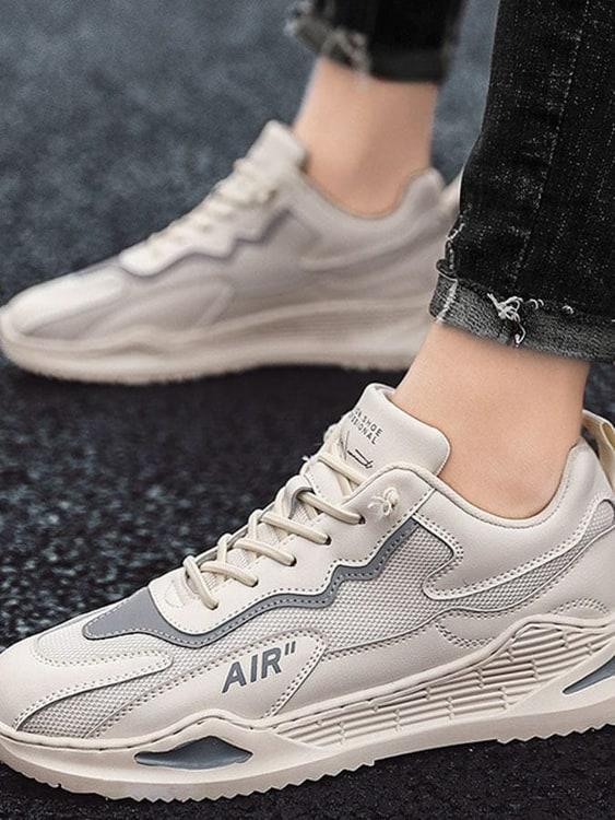柔軟透氣.時髦拼接休閒鞋