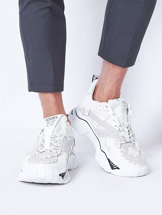 必備款幾何線條設計老爹鞋