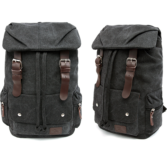 柒零質樸耐髒設計款‧皮革釦大容量後背包,,,06020051,柒零質樸耐髒設計款‧皮革釦大容量後背包,