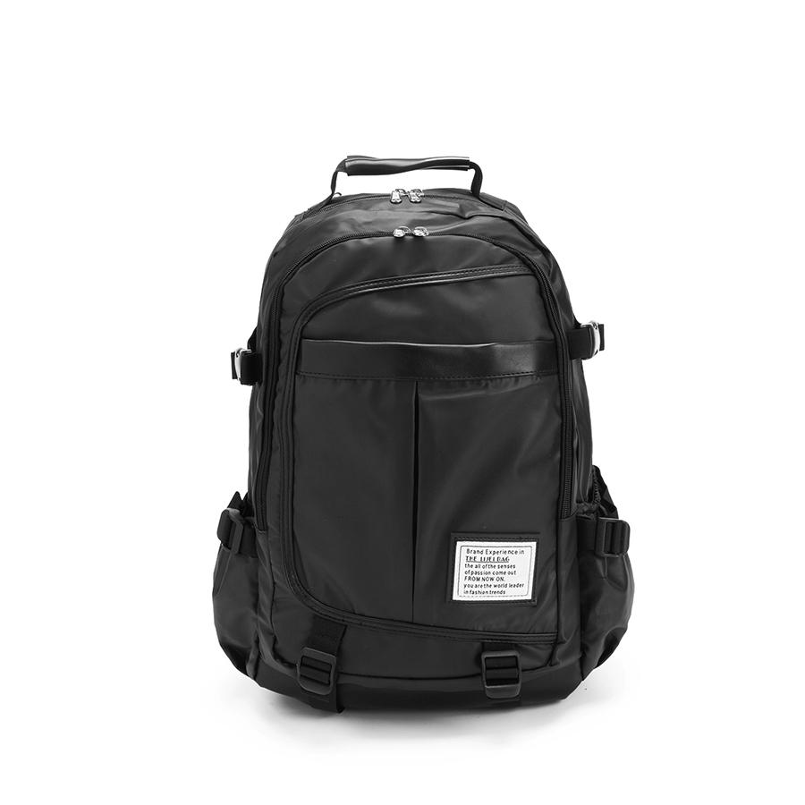大容量設計.皮革拼接多層後背包,,,06020060,大容量設計.皮革拼接多層後背包,